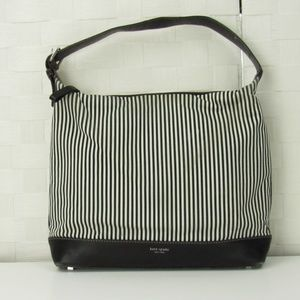 Kate Spade Vintage Floral 'Ruby' Striped Handbag